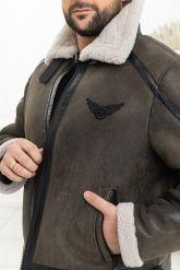 Зимний мужской пилот. Фото 5.