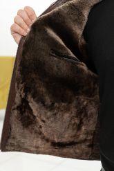 Короткая мужская дубленка. Фото 3.