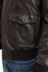 Мужская кожаная куртка со съемной пдстежкой DAYTONA. Фото 3.