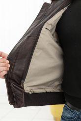 Мужская кожаная куртка со съемной пдстежкой DAYTONA. Фото 4.