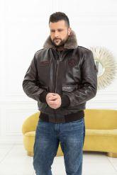 Мужская кожаная куртка со съемной пдстежкой DAYTONA. Фото 6.
