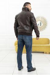 Мужская кожаная куртка со съемной пдстежкой DAYTONA. Фото 8.
