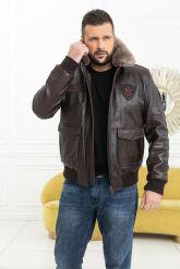 Мужская кожаная куртка со съемной пдстежкой DAYTONA. Фото 9.