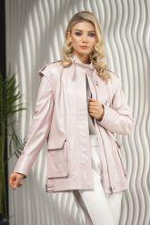 Женская кожаная куртка - трансформер PUNTO. Фото 3.