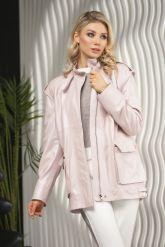Женская кожаная куртка - трансформер PUNTO. Фото 6.