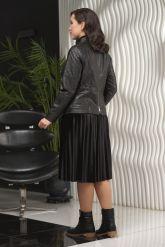 Удлиненная женская косуха. Фото 5.