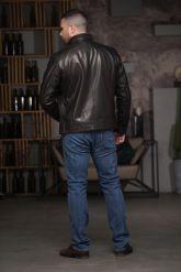 Хит продаж Мужская кожаная куртка. Фото 2.