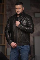Хит продаж Мужская кожаная куртка. Фото 4.