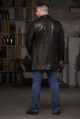 Мужской кожаный френч. Фото 6.