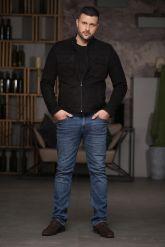 Замшевая мужская куртка. Фото 1.