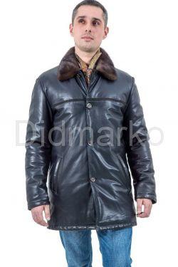 Зимняя кожаная куртка HOGGER