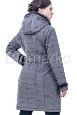 Классическое пальто цвета каппучино