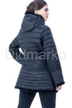 Классическая куртка черного цвета