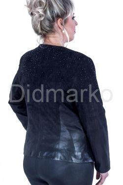 Куртка из натуральной замши