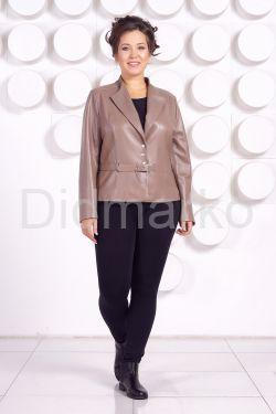 Кожаная куртка больших размеров JUVE