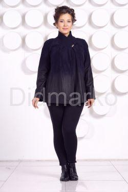 Красивая замшевая куртка больших размеров MEDYA