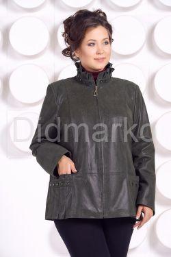 Замшевая куртка больших размеров