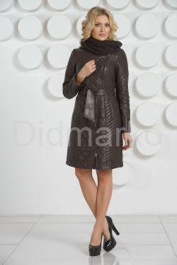 Стеганое пальто на каждый день