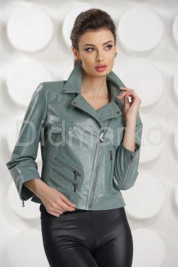 Кожаная куртка evergreen