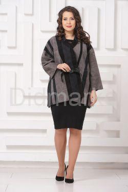 Стильная замшевая куртка DONNA BONITA