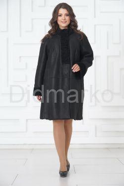 Классическое пальто из овчины