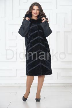 Роскошное пальто из овчины