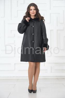 Женское пальто из овчины