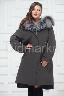 Женское пальто с подстежкой