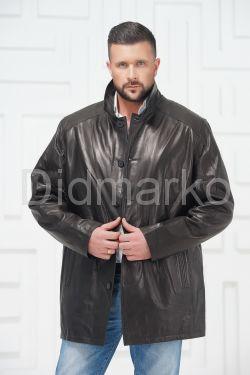 Мужская кожаная куртка больших размеров