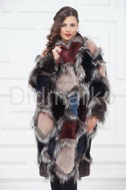Роскошное меховое пальто от PUNTO