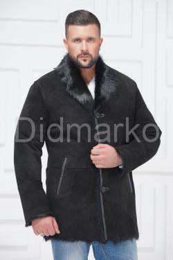 Зимний мужской замшевый пиджак