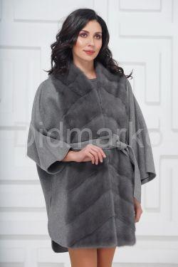 Пальто-пончо из кашемира