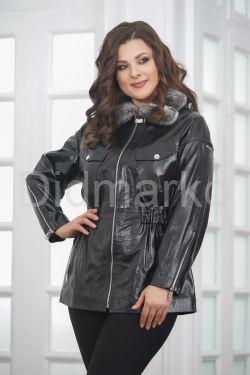 Весна 2019 Стильная лаковая куртка