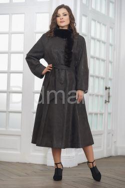 Женское замшевое пальто - гаде