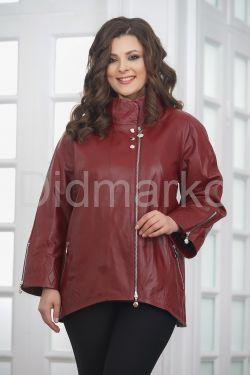 Женская кожаная куртка красивого цвета