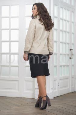 Весенняя удлиненная женская куртка косуха весна- 2021