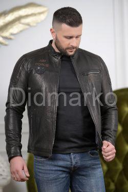 Хит сезона 2020 мужская кожаная куртка