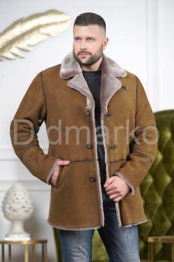 Зимняя мужская дубленка