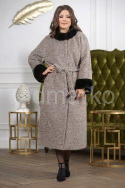 Женское пальто с норкой