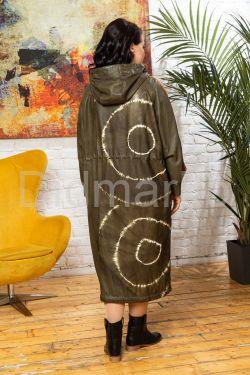 Новая коллекция весна 2020 кожаный плащ
