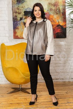 Кожаная куртка Шанель