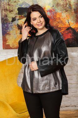 Женская кожаная куртка Шанель