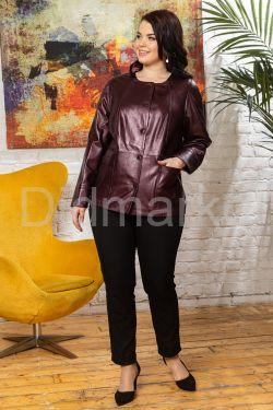 Удлиненная перламутровая кожаная куртка Шанель