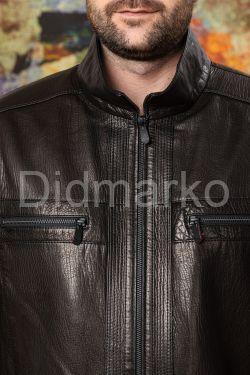 Стильная мужская кожаная куртка