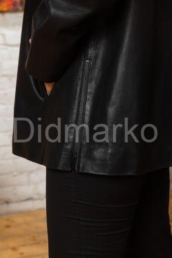 Замшевая куртка деграде