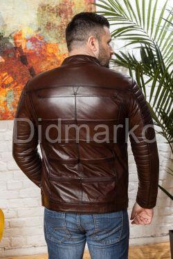 Хит сезона Стильная мужская кожаная куртка