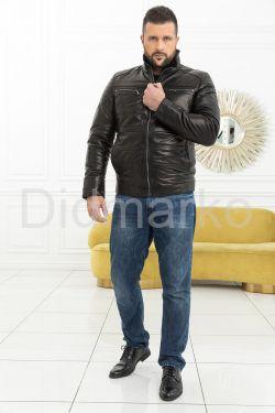 Укороченная мужская дубленка