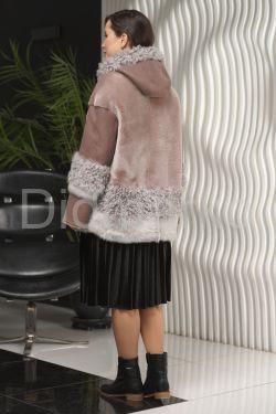 ХИТ СЕЗОНА Женская дубленка с капюшоном