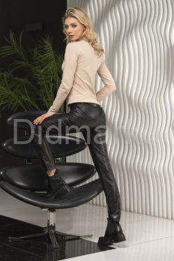 Классические кожаные брюки