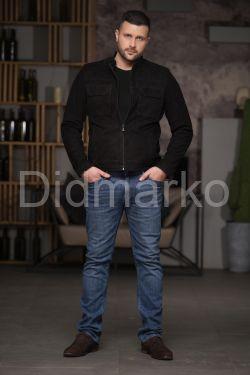 Замшевая мужская куртка